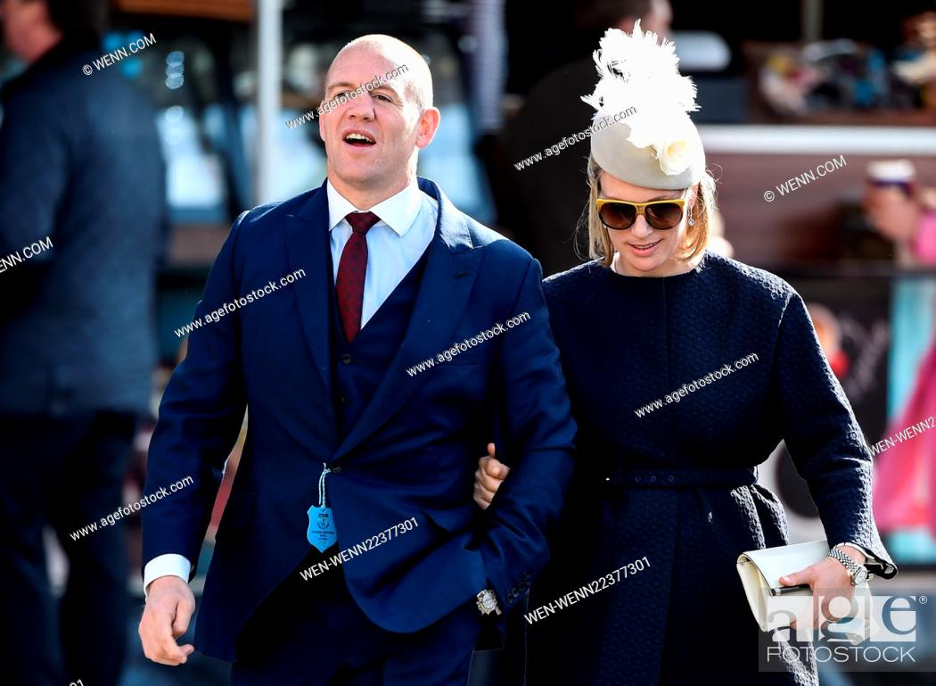 Zara Phillips And Her Husband Mike Tindall At The Grand National