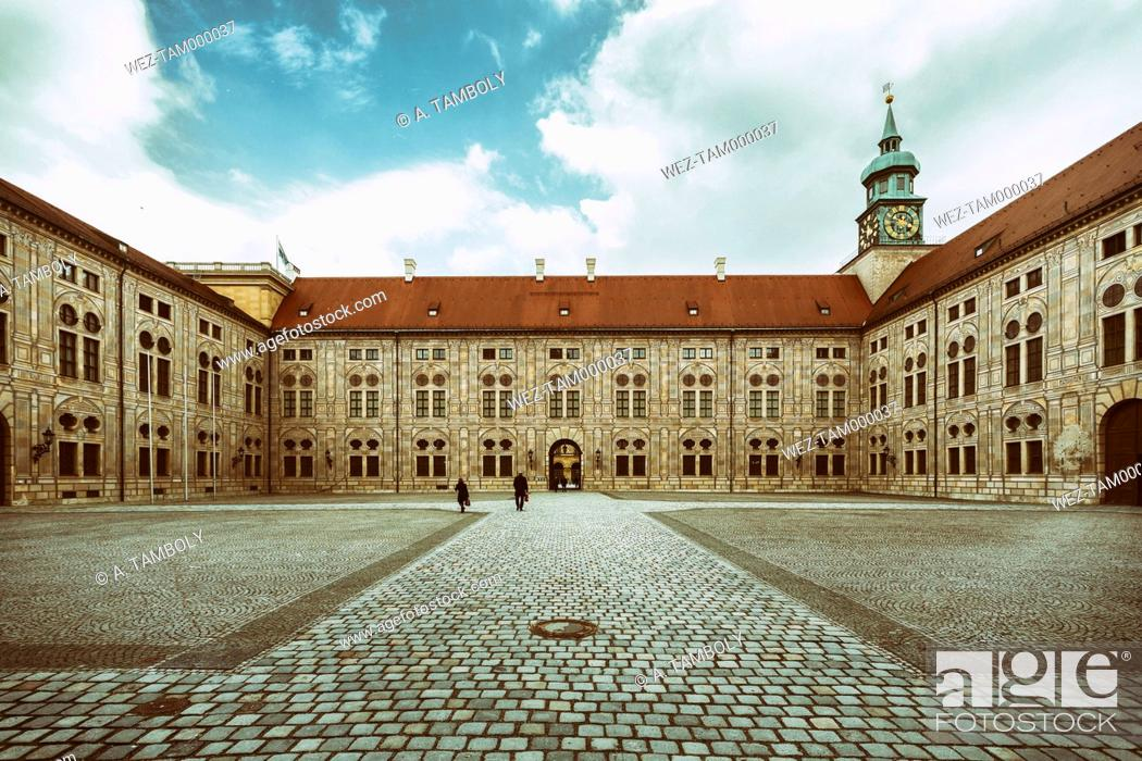 Stock Photo: Germany, Munich, Munich Residenz, museum complex in an old royal residence.