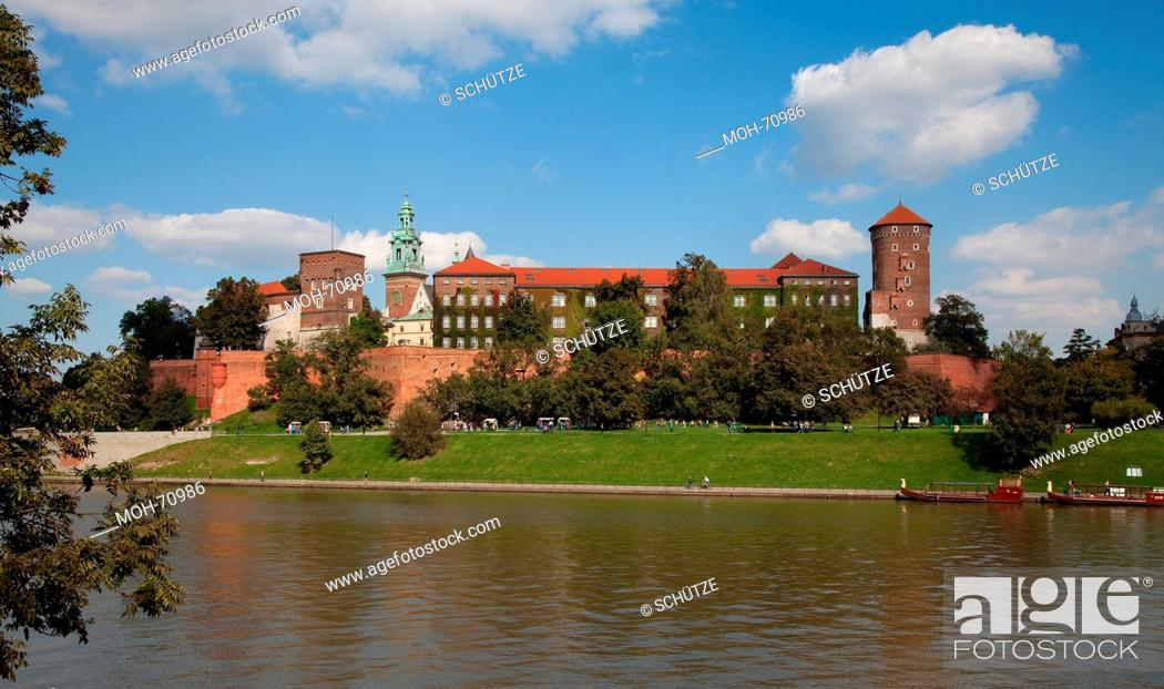 Stock Photo: Krakau, Kathedrale St. Stanislaus und Wenzel, Wawel-Kathedrale.