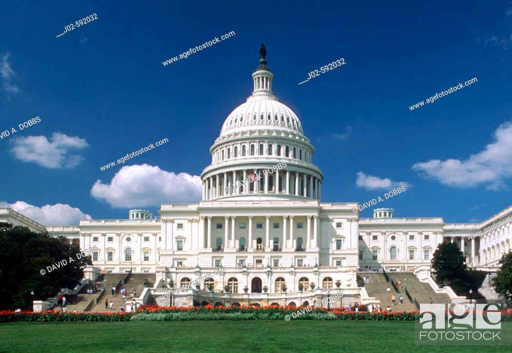 Imagen: Capitol Building, Washington D.C. USA.