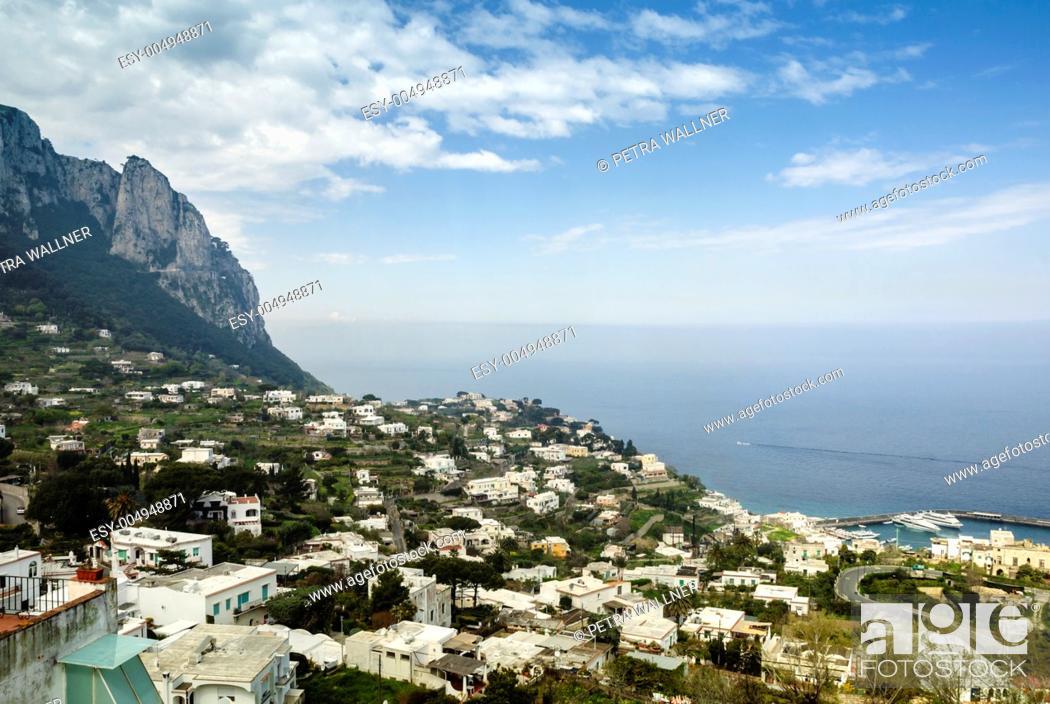 Stock Photo: Isle of Capri, Capri, Province of Naples, Campania, Italy, Europe.