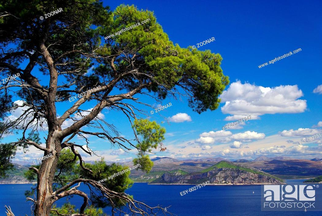 Stock Photo: Elaphitische Inseln 35.