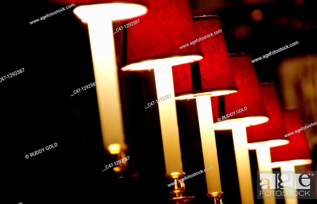 Stock Photo: Lamps.