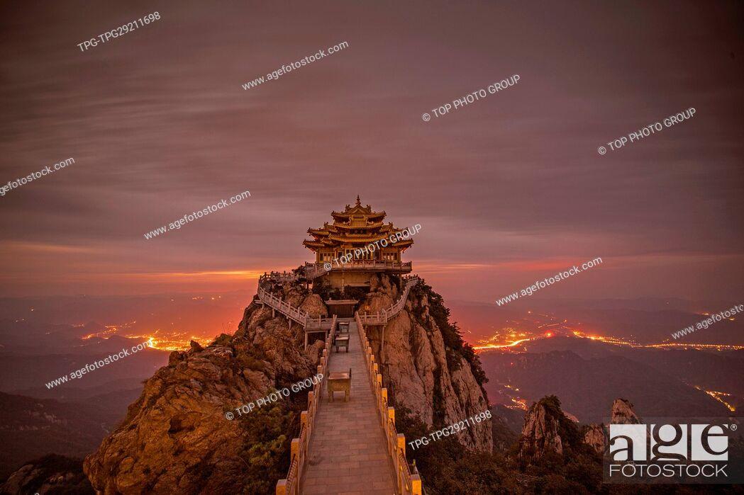 Imagen: Mount Laojun;Luoyang;China;.