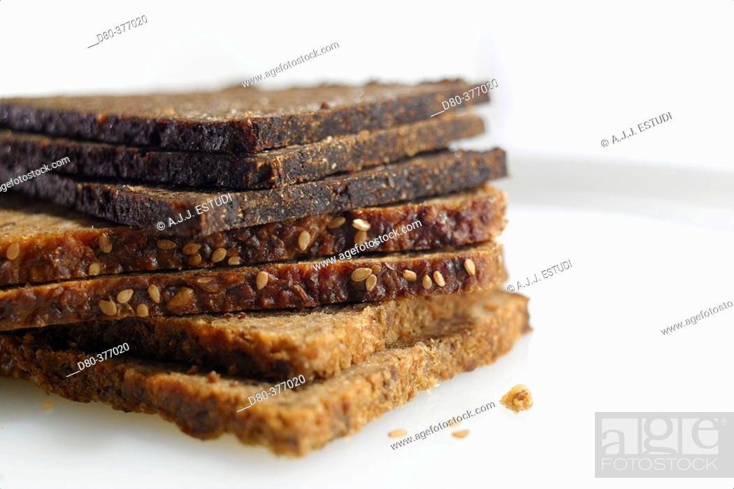 Stock Photo: German bread.