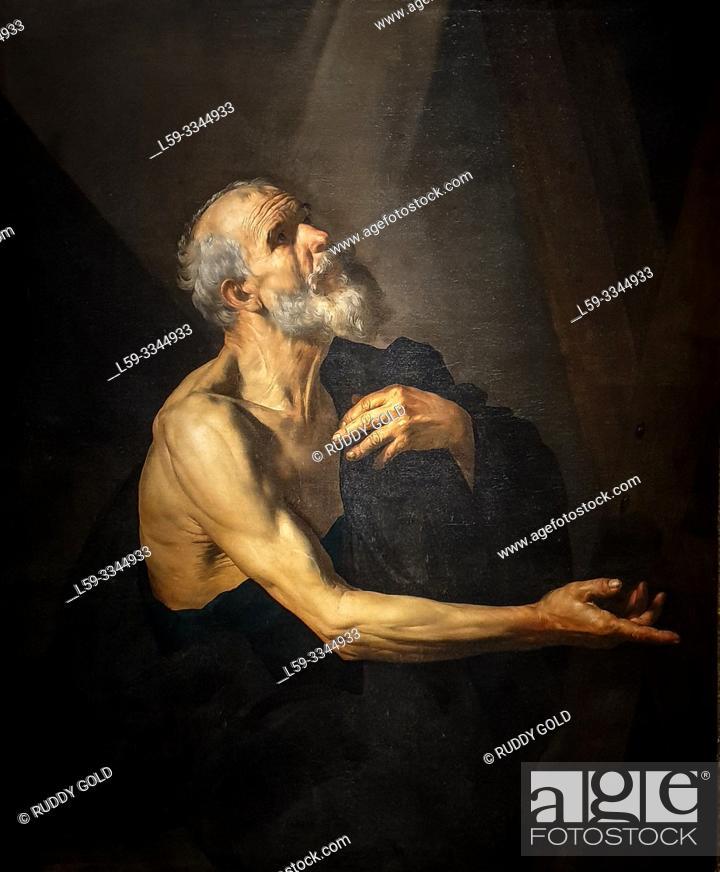 Imagen: 'Saint Andrew', 1615/20, Jusepe de Ribera (1591-1652).