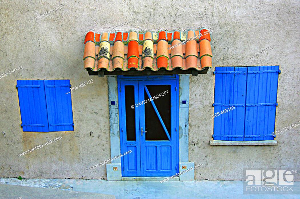 Stock Photo: Bages. Aude, Languedoc-Roussillon, France.