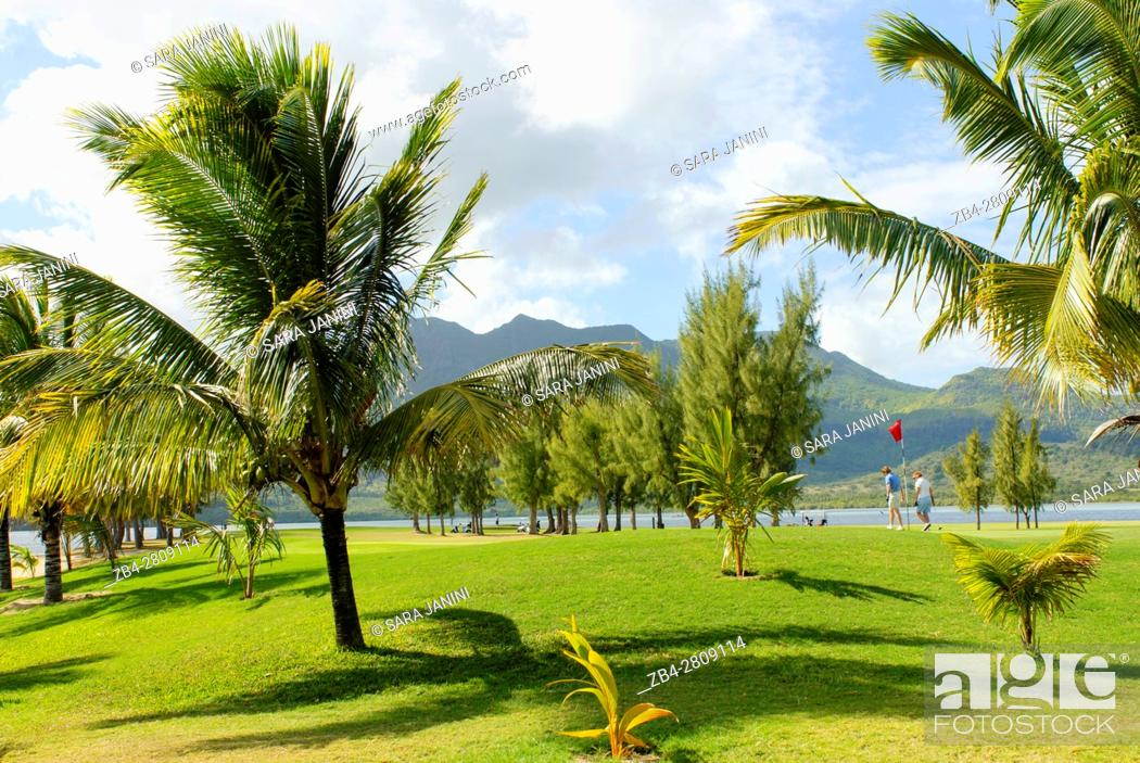 Stock Photo: Paradis Hotel & Golf Club, Mauritius, Indian Ocean, Africa.