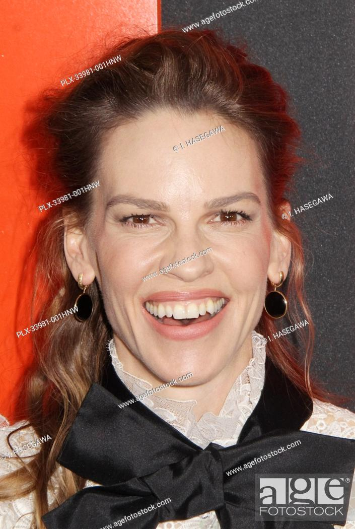 "Photo de stock: Hilary Swank 03/09/2020 The Special Screening of """"The Hunt"""" held at The ArcLight Hollywood in Los Angeles, CA. Photo by I."