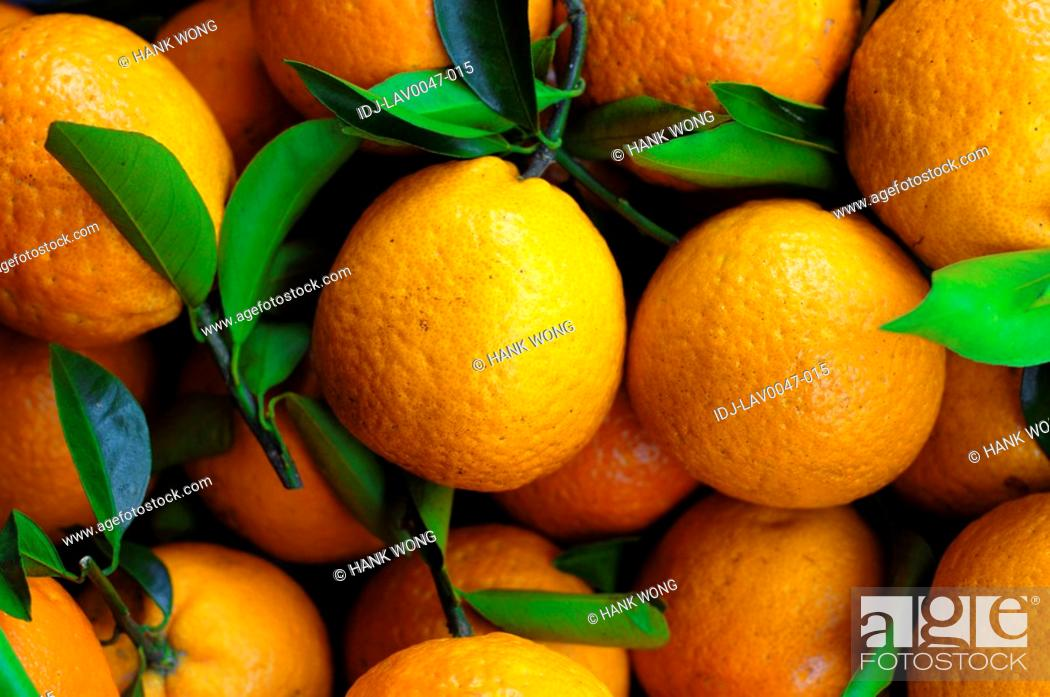Stock Photo: Close-up of oranges.