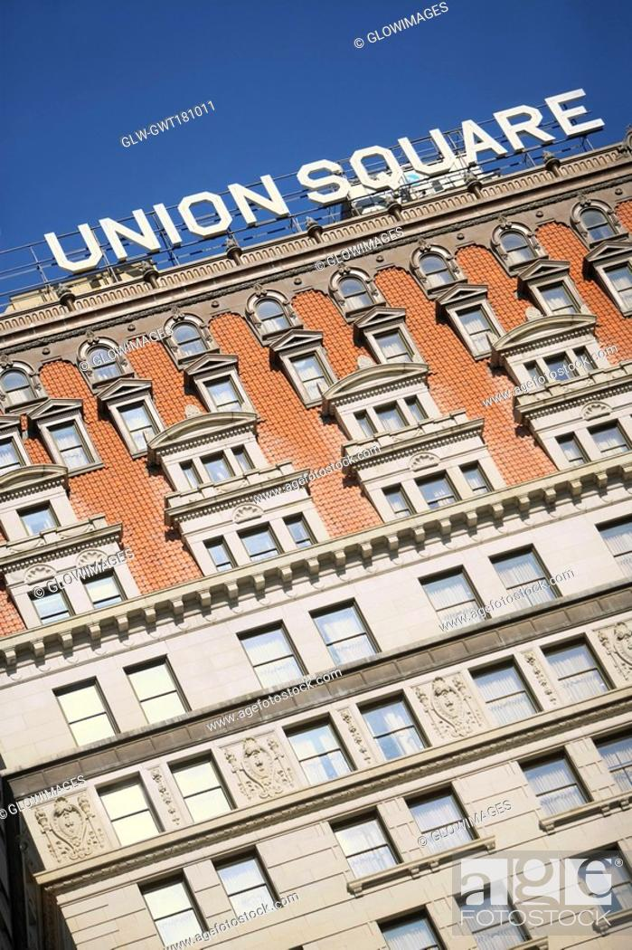 Stock Photo: Low angle view of a building, Union Square, New York city, New York State, USA.