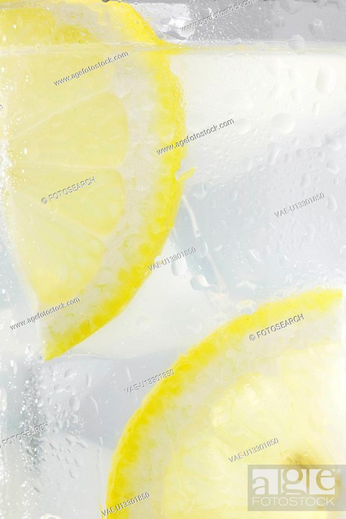 Stock Photo: Close-up of lemonade.