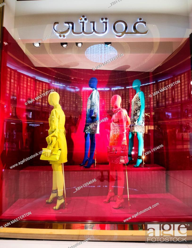 Photo de stock  Gucci boutique at The Dubai Mall in Dubai United Arab  Emirates. a3d88952f03