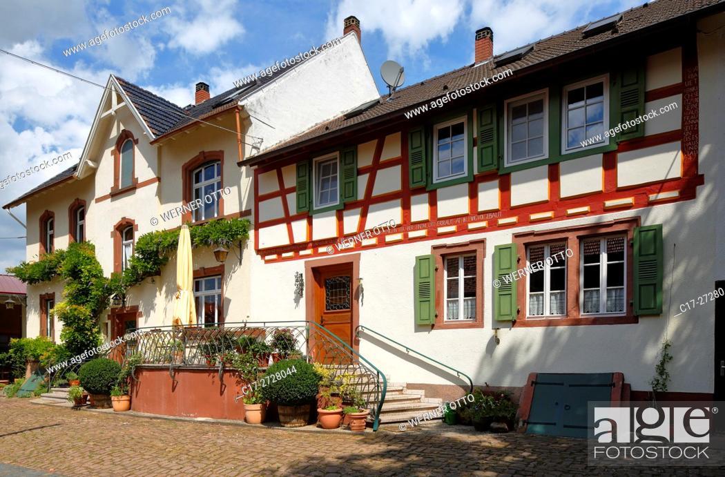 Imagen: Germany, Worms, Rhine, Upper Rhine, Rhenish Hesse, Rhine-Neckar area, Rhine-Main district, Rhineland-Palatinate, Worms-Ibersheim, Ibersheim village.