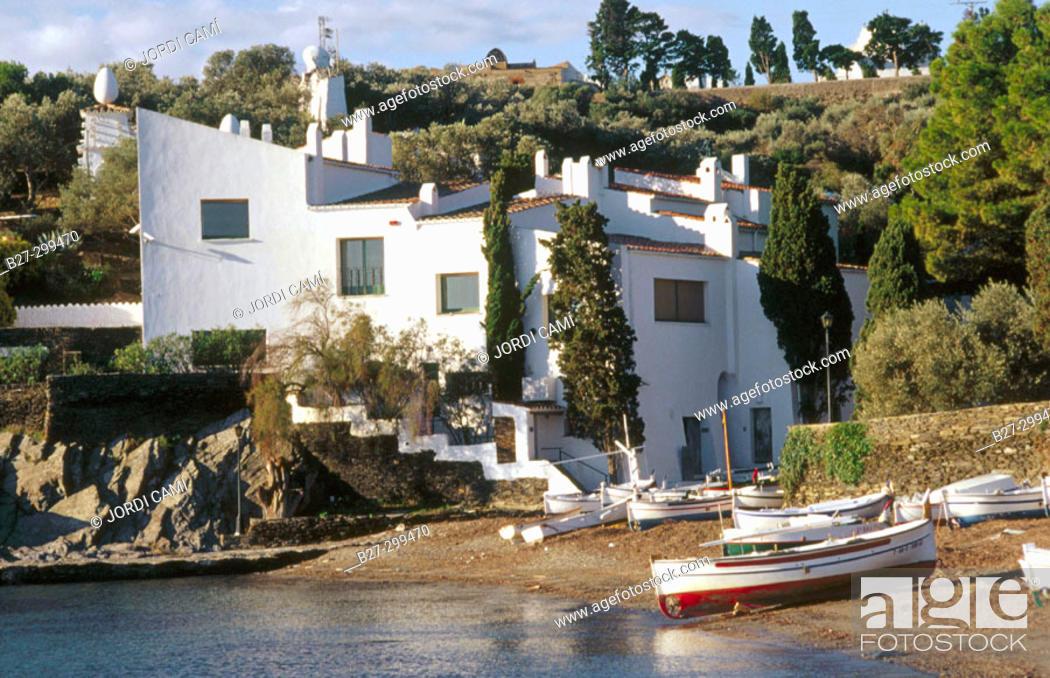 Photo de stock: Casa-Museu Salvador Dalí. Portlligat. Alt Emporda. Girona province. Catalonia. Spain.