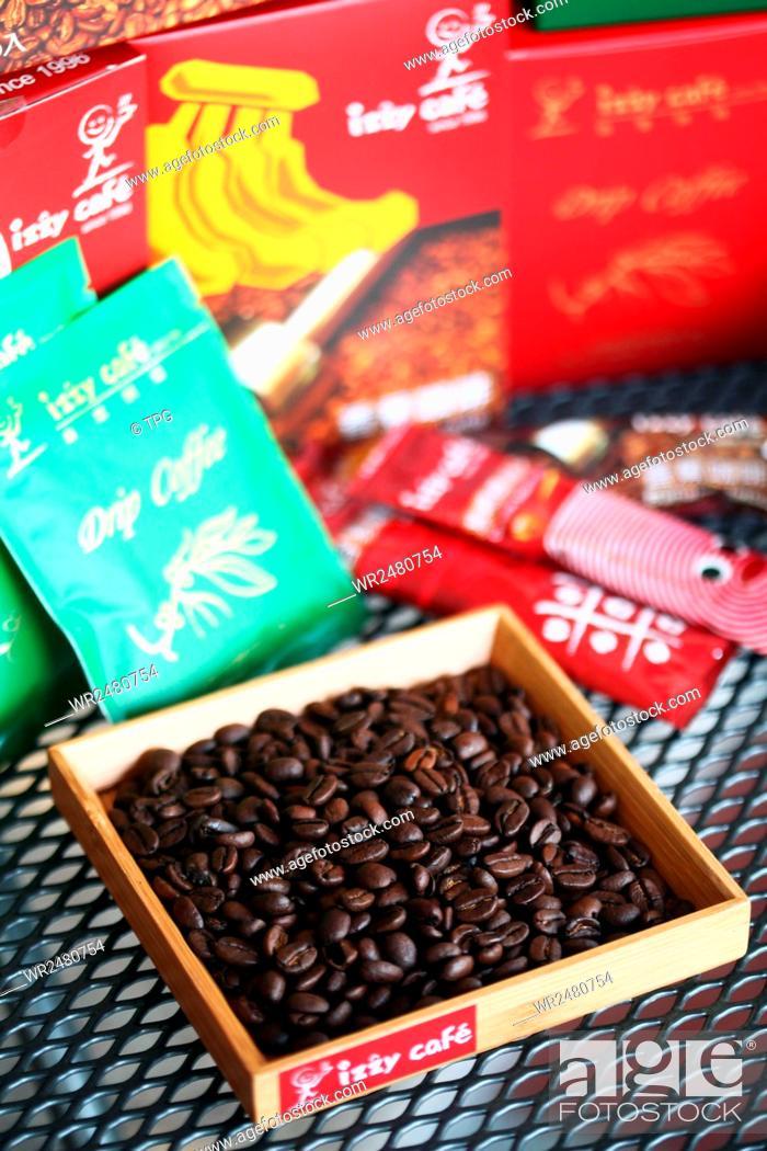 Stock Photo: Mini izzy caf.