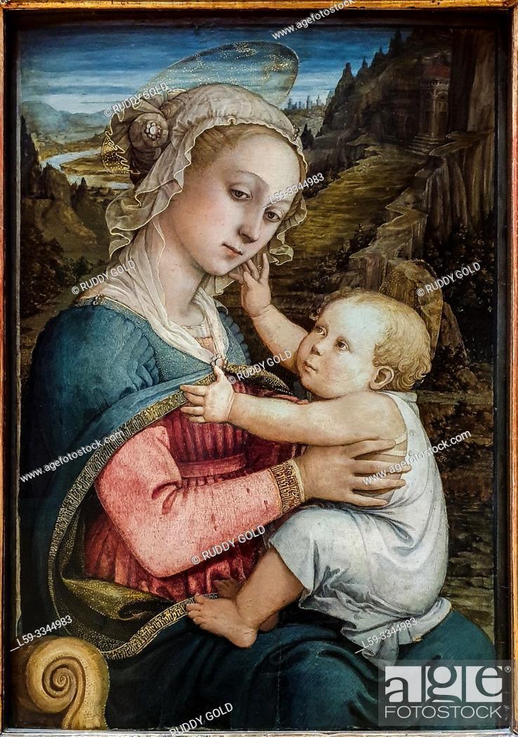 Imagen: 'Virgin and Child', 1460/65, by Fra Filippo Lippi (1406-1469).