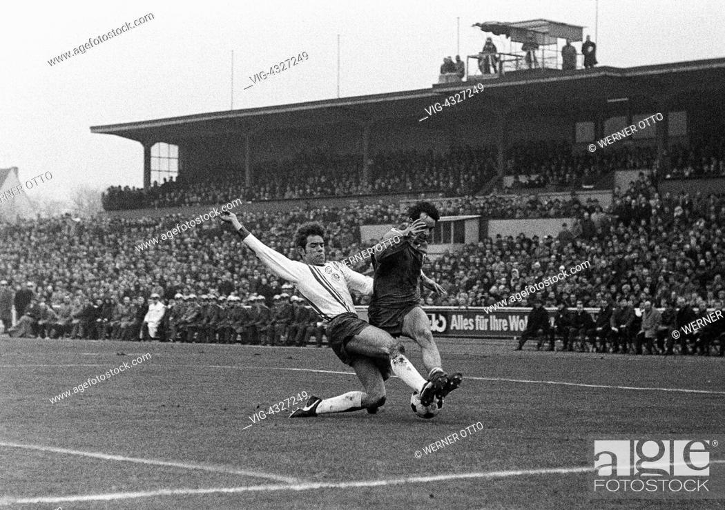Fussball Regionalliga West Saison 1968 1969 Rot Weiss