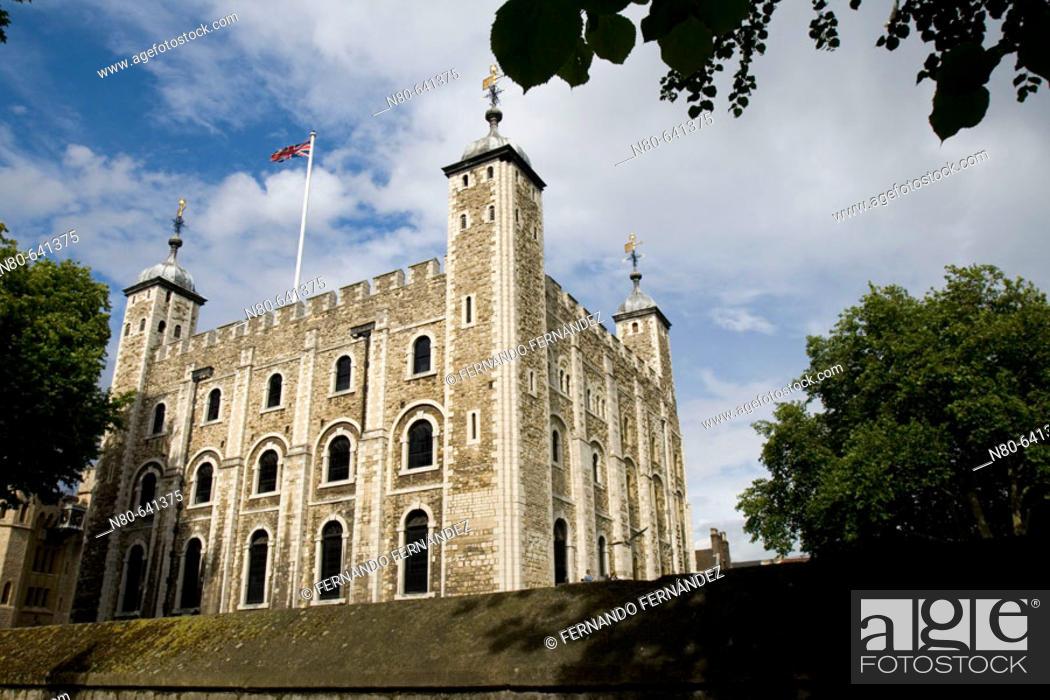 Stock Photo: Tower of London, London. England, UK.