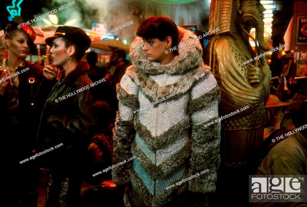 Stock Photo: Sean Young, Blade Runner 1982.