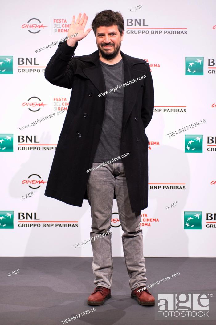 """Stock Photo: Rodrigo Fiallega attends the photocall of the movie """"""""Richochet"""""""" during the 15th Rome Film Festival on October 17, 2020 in Rome, Italy."""