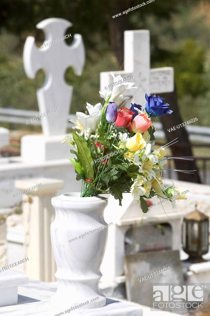 Stock Photo: Graveyard, Burial Ground, Burial Site.