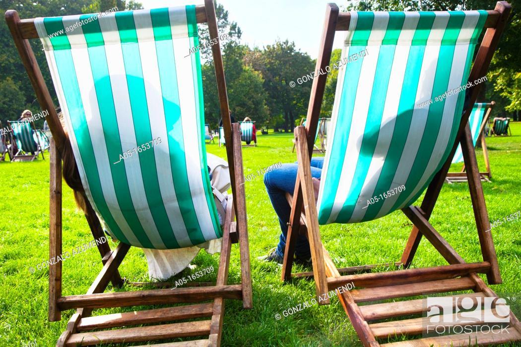 Stock Photo: Green Park  London  England  United Kingdom.