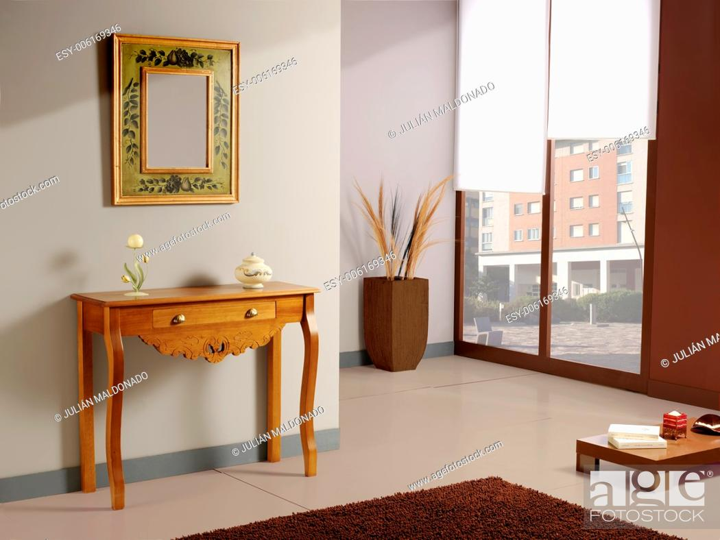 Stock Photo: Image of Interior and decoration.