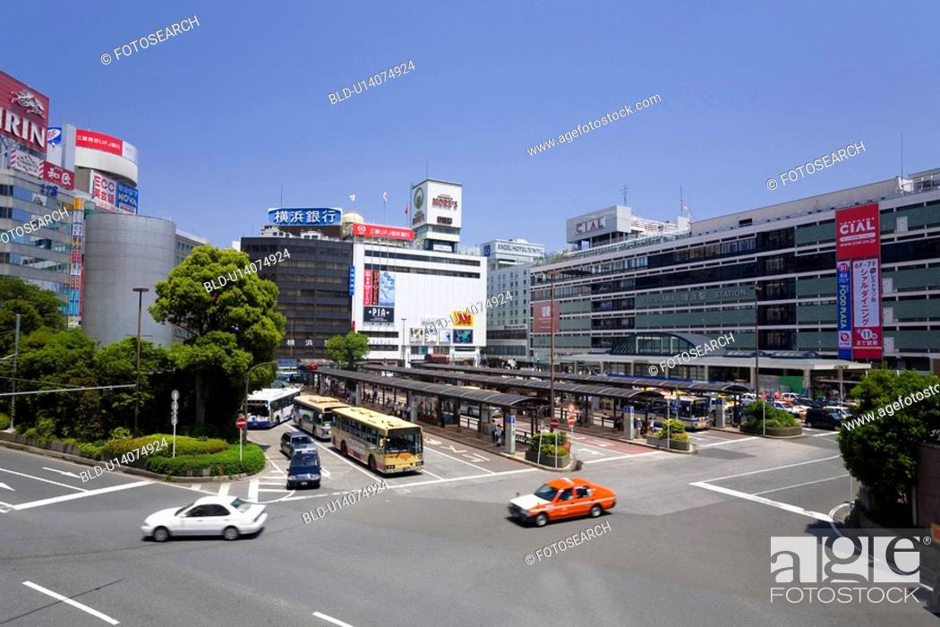 Stock Photo: Yokohama Station west exit.