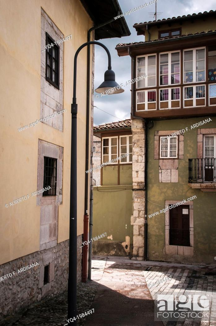 Stock Photo: Image of Old Llanes, Asturias, Spain.
