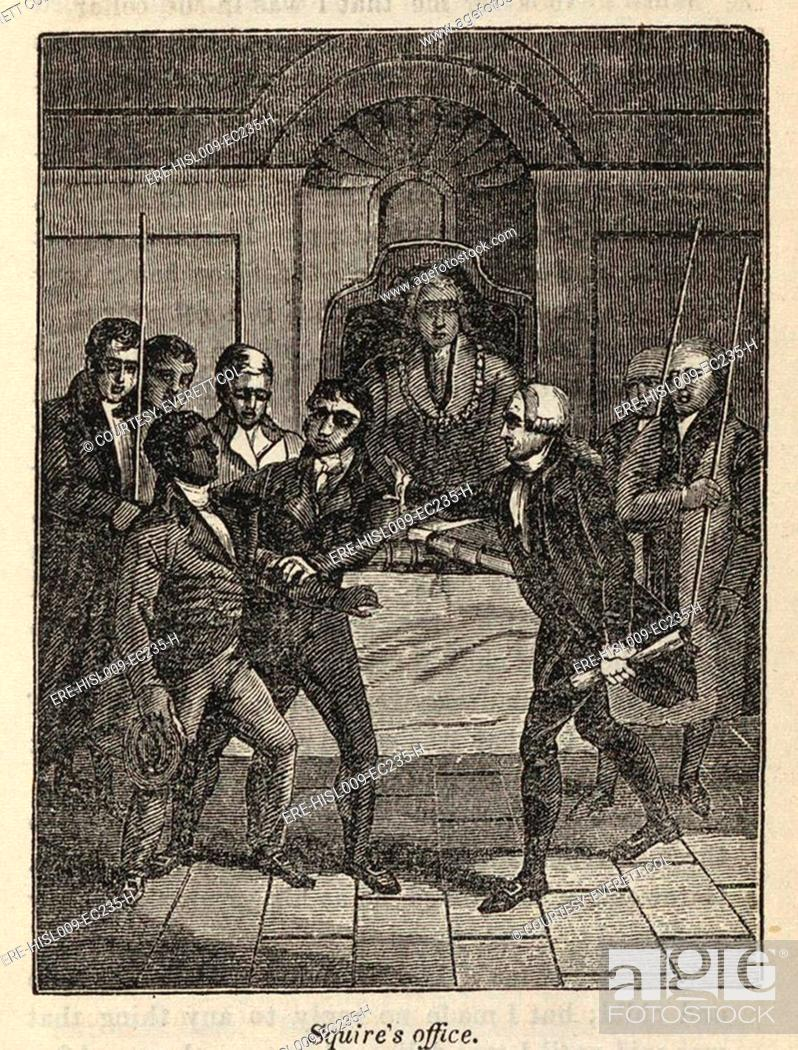 Fugitive slave Henry Bibb appears before a Judge in Cincinnati, Ohio