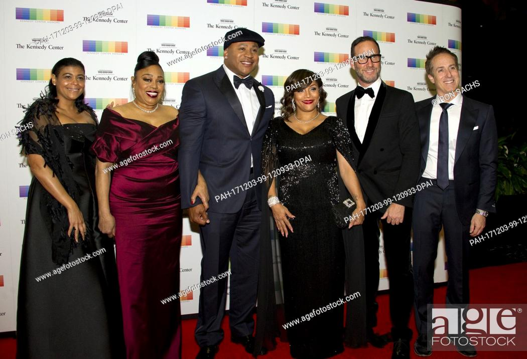 LL COOL J And His Family Arrive For The Formal Artists Dinner