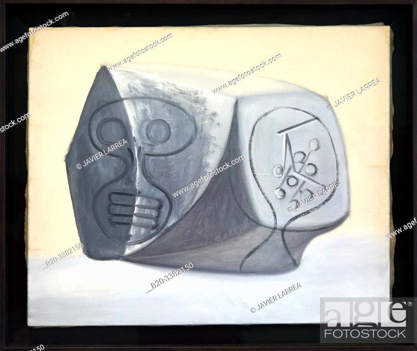 """Stock Photo: """"Vanité"""", 1946, Pablo Picasso, Picasso Museum, Paris, France, Europe."""