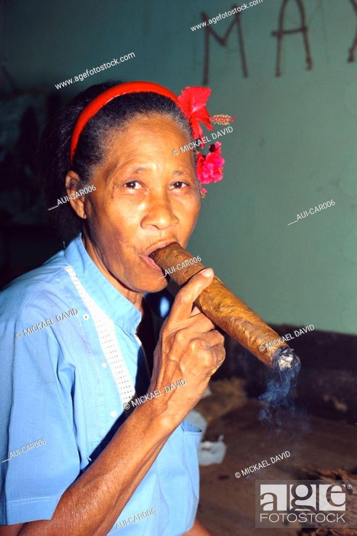 Stock Photo: Caribbean - Cuba - Havana - Partagas factory.