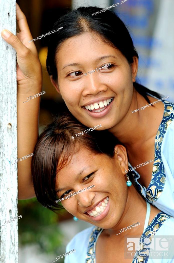 Massage Girls Legian Bali Indonesia Stock Photo Picture And