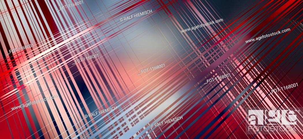 Stock Photo: Intersecting colored lines.