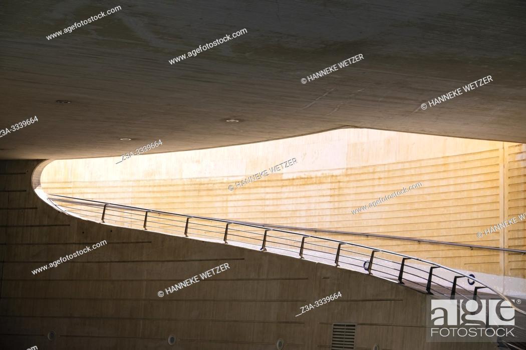 Stock Photo: Calatrava road in Valencia, Spain, Europe.