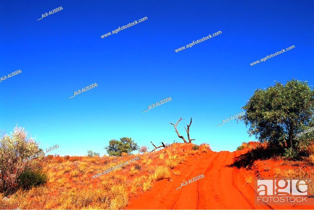 Stock Photo: Australia - North - Rainbow Vallee.