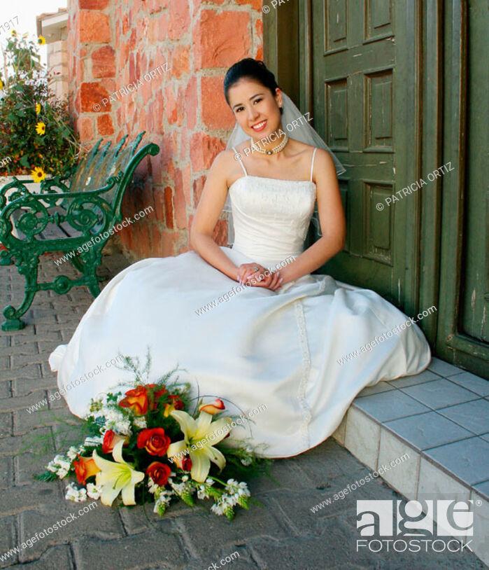 Stock Photo: Bride. Chihuahua, Mexico.