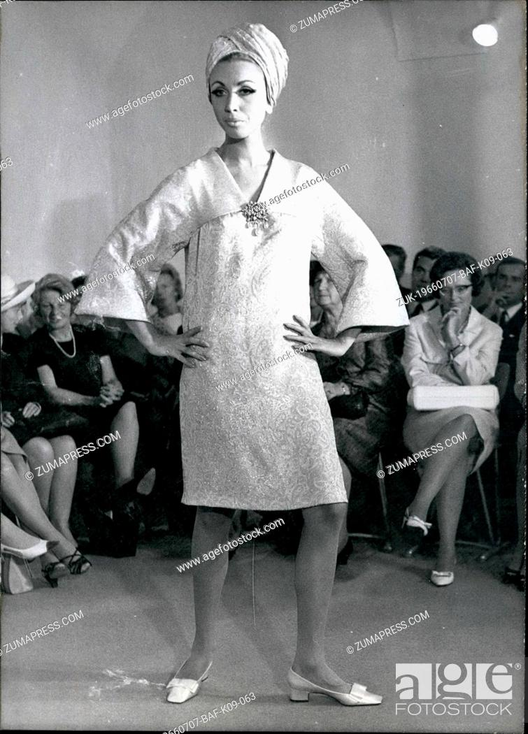 Jul 07 1966 Fall And Winter Fashion 1966 1967 The German Master School For Fashion Showed Their Stock Photo Picture And Rights Managed Image Pic Zuk 19660707 Baf K09 063 Agefotostock