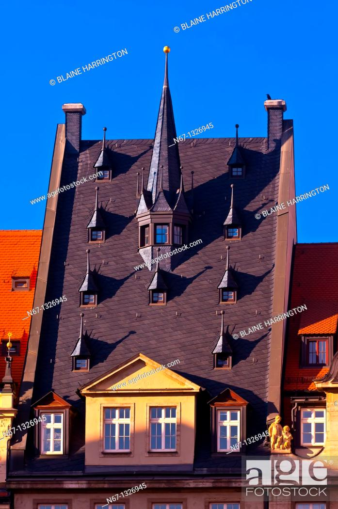 Stock Photo: Architecture, Leipzig, Saxony, Germany.
