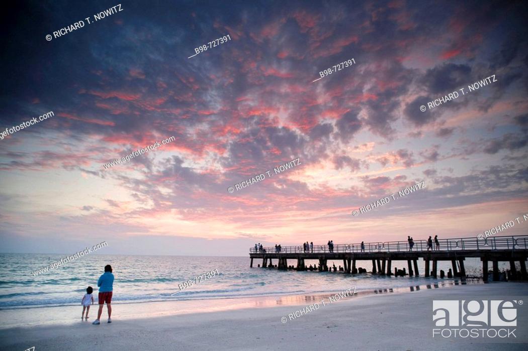 Stock Photo: Anna Maria Pier, Anna Maria Key, Manatee County, Florida.