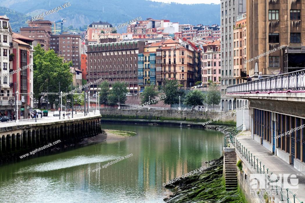 Stock Photo: Bilbao, Spain.