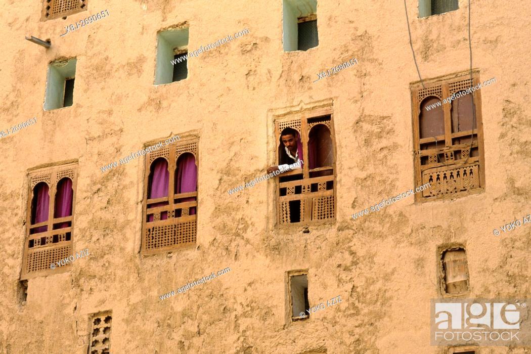Stock Photo: yemen, shibam.
