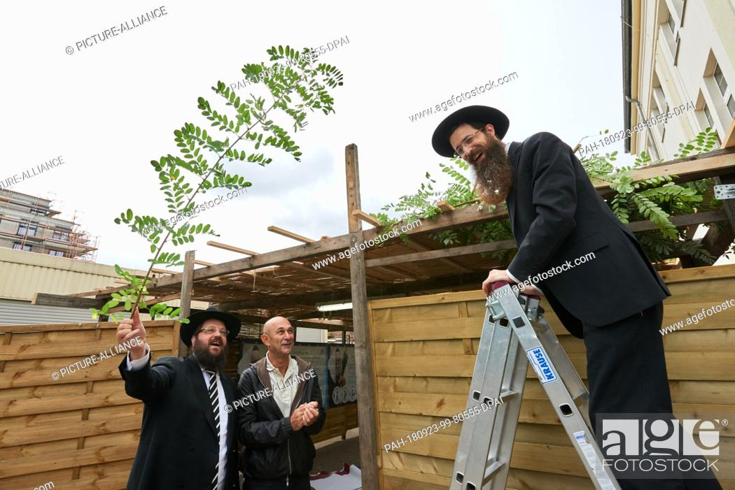 23 September 2018 Berlin Rabbis Yehuda Teichtal L And Shmuel