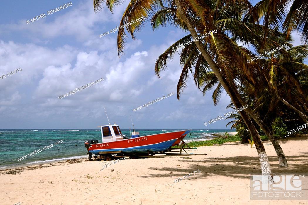 Stock Photo: France, West Indies, Guadeloupe, Ile de la Désirade.