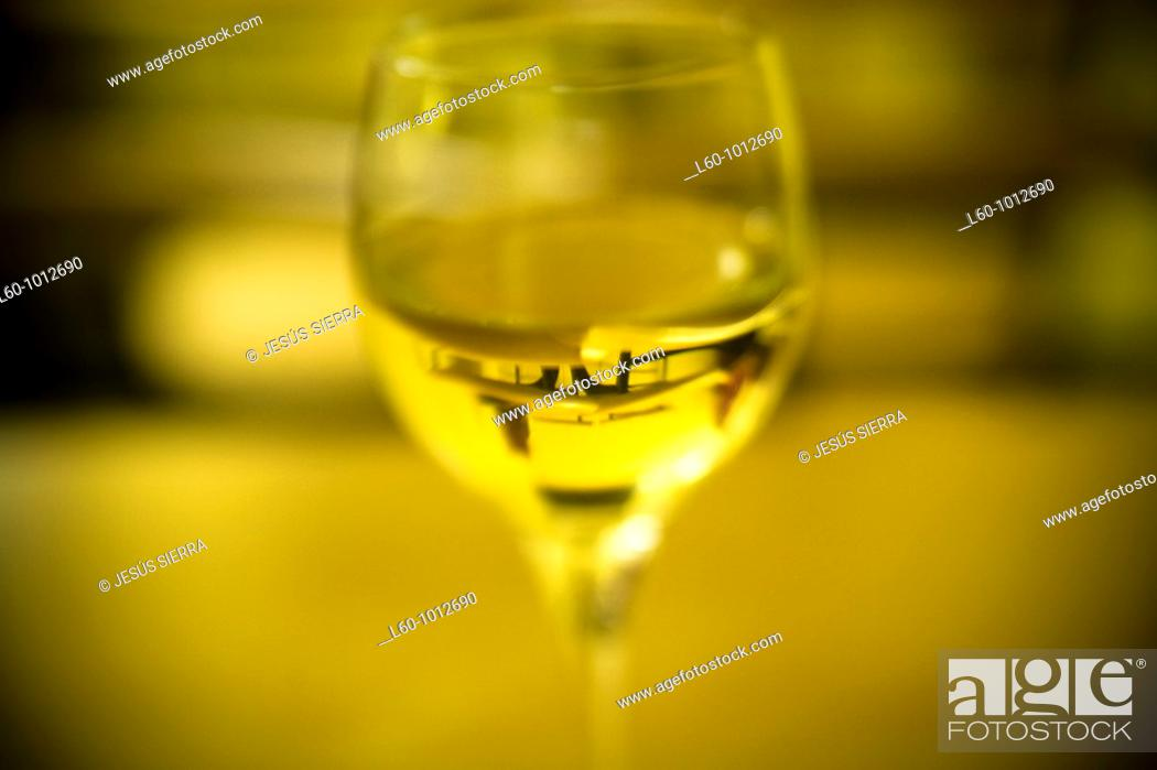 Stock Photo: Vine Albariño, Galicia, Spain.