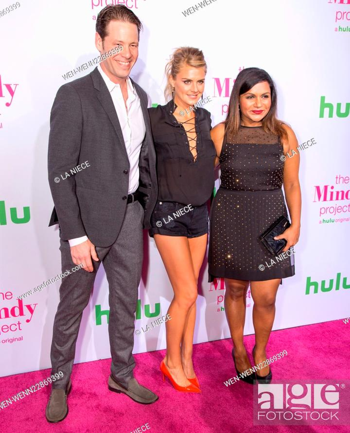 Premiere Of Hulu S The Mindy Project Arrivals Featuring Ike