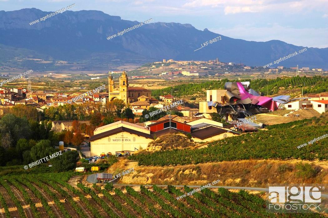Hotel From Architect Frank Gehry And Bodegas Marques De Riscal