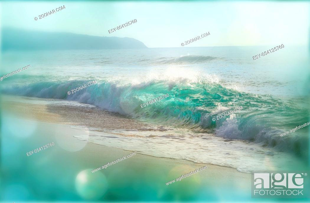 Imagen: Amazing hawaiian beach.